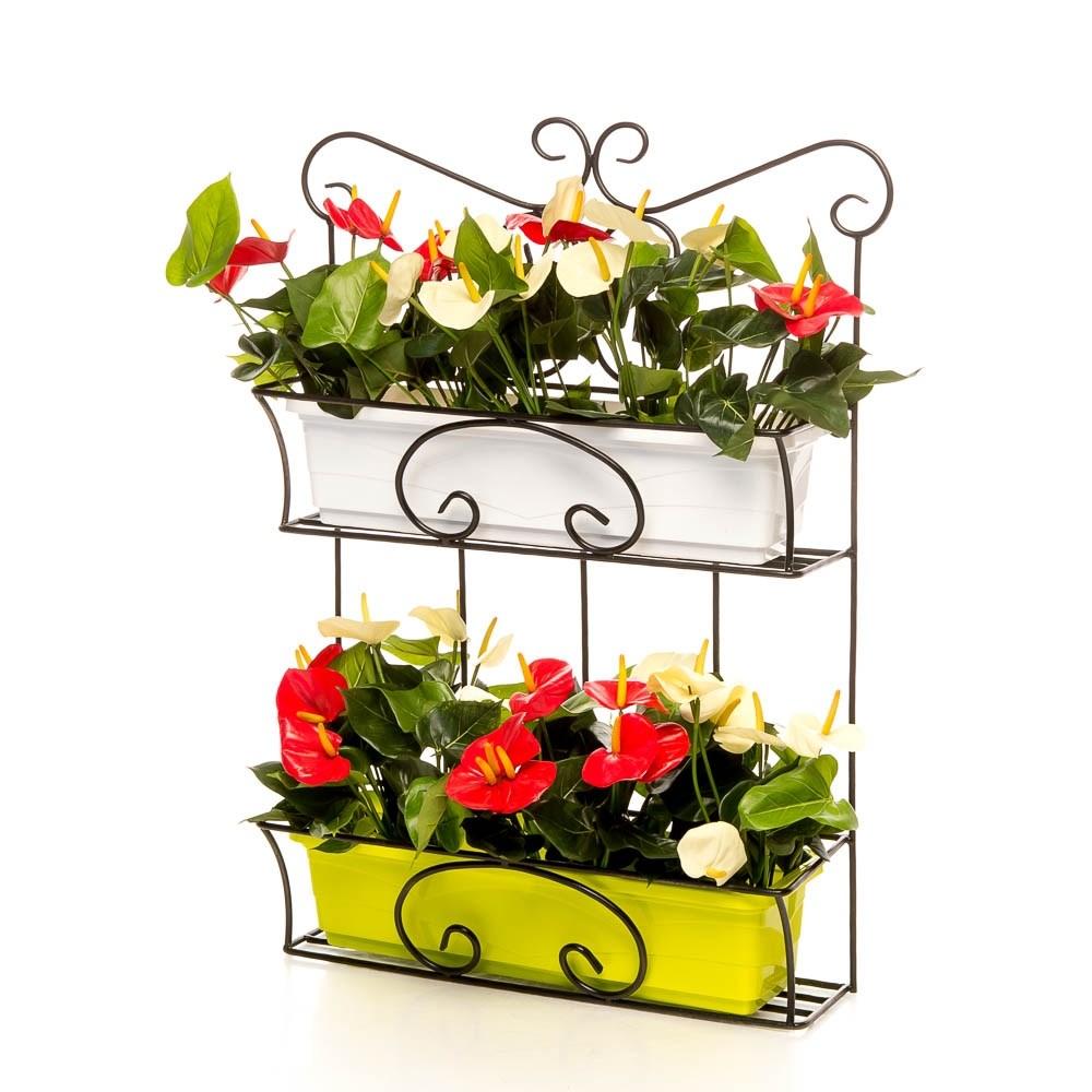 Подставки навесные для цветов