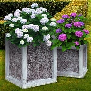 Кашпо квадратное для сада