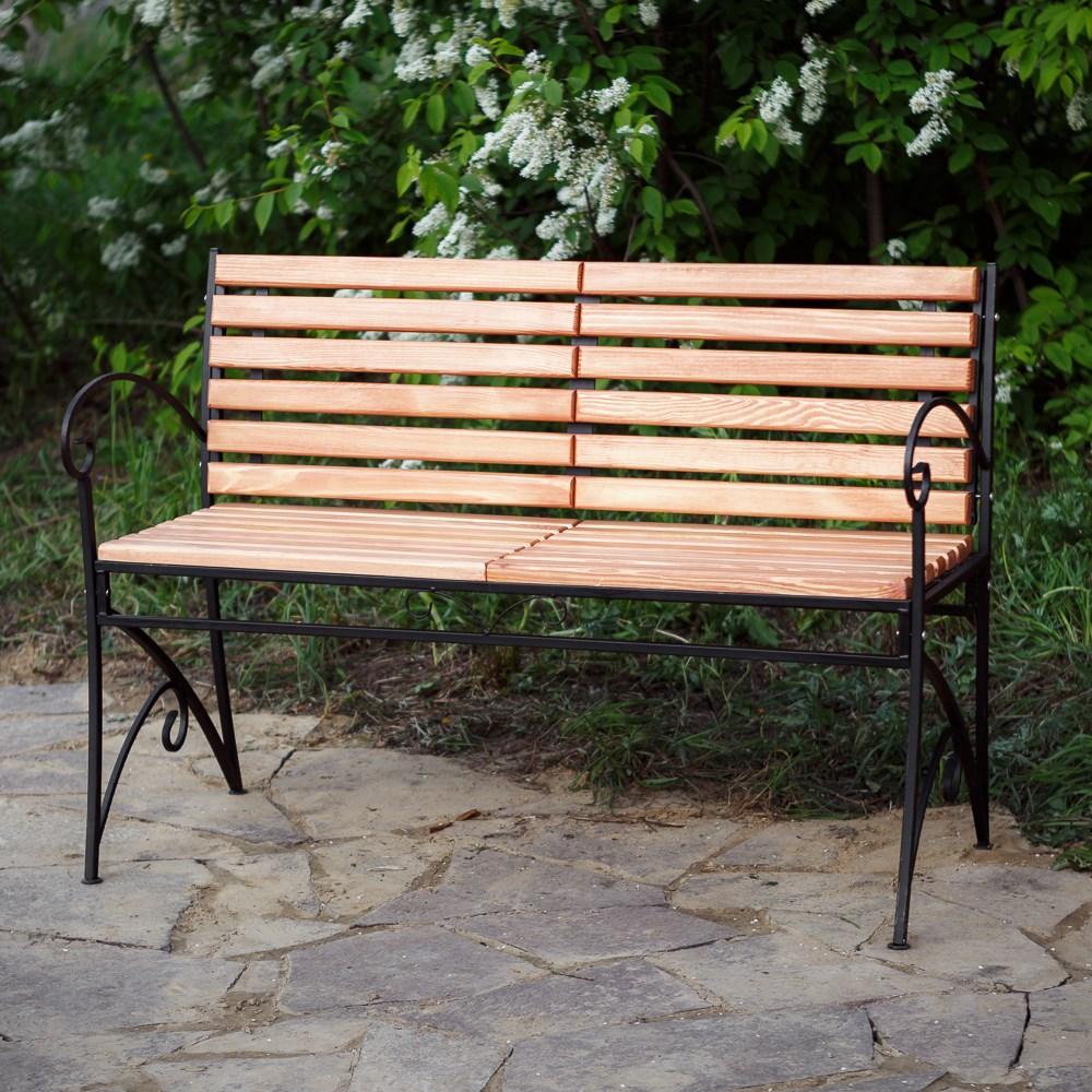 Скамейка для дачи из дереква