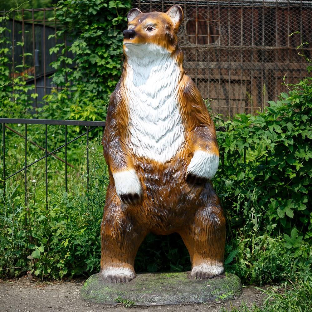 Фигура из полистоуна Медведь