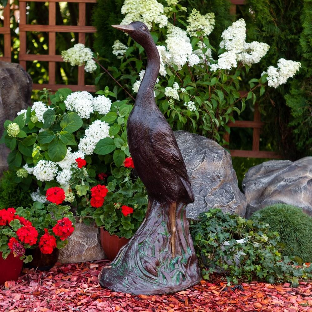 Скульптура Журавль