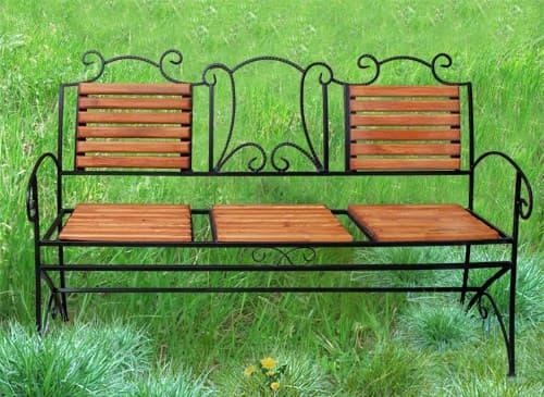 Скамейка парковая за 7500 руб.