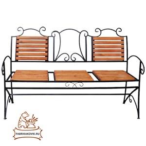 Скамейка со спинкой 891-57